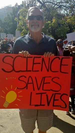 Tom Patterson at March for Science