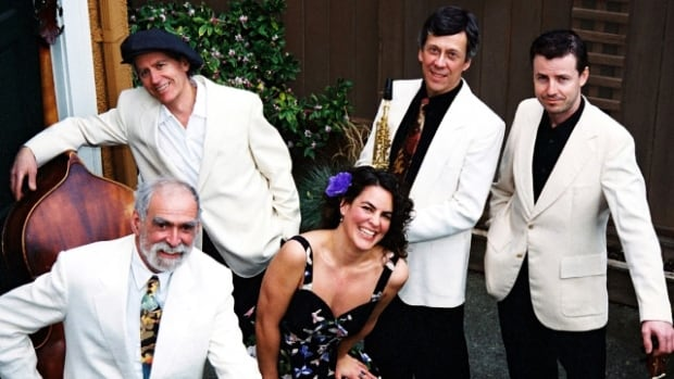 Deanna Knight and the Hot Club of Mars gear up for their performance at the April in Paris gypsy jazz festival.