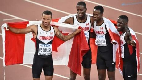 The 4-11 on Canada's 4-man relay team