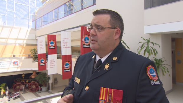 Matthew Pegg has been serving as Toronto's interim fire chief since May 2016, when former chief Jim Sales took a leave of absence (eventually stepping down in October).