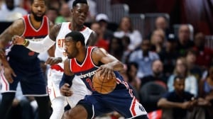 Wizards cast off Hawks to advance to Eastern semifinals