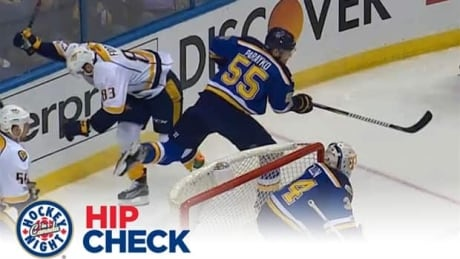 Hip Check: The Blues capitalize on Fiddler ejection, hand Predators their first loss of 2017 Playoffs