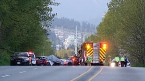 3 dead, including 2 children, after 'major' multi-vehicle crash in Coquitlam, B.C.