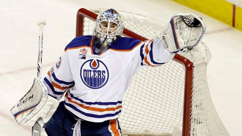 free shipping fe5fe 7a2b2 Oilers raving about Cam Talbot's playoff performance | CBC ...