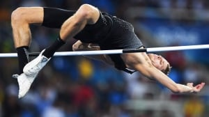 Canada's Derek Drouin wins 4th straight Drake Relays title