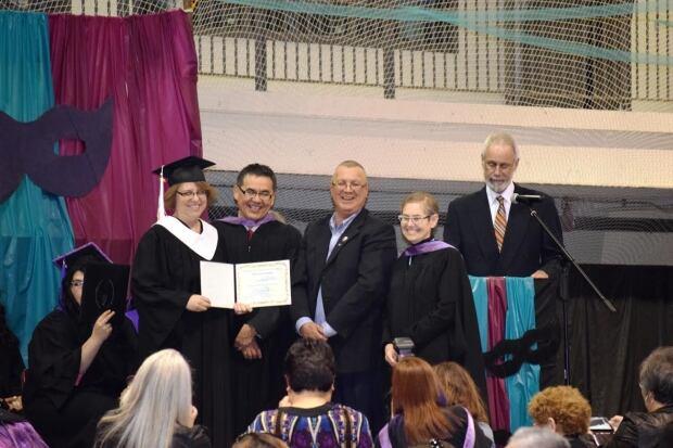 NORTEP graduate Janet Alcrow (left)