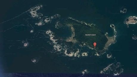 Barlett Island Google Maps British Columbia