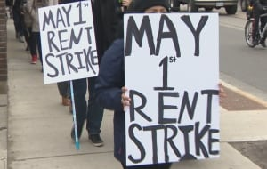 Toronto - Pardale rent strike