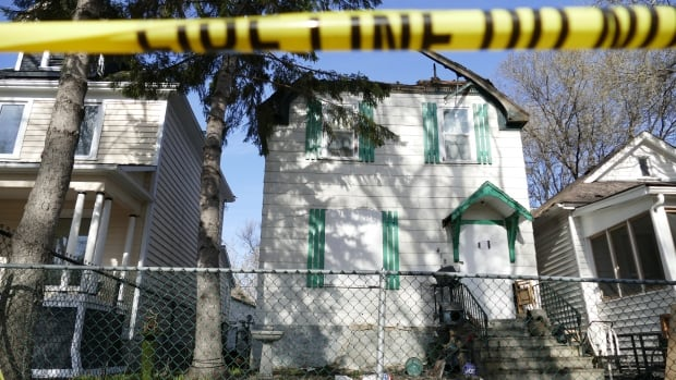 A Toronto Street home is in ruins after a fire on Sunday evening.