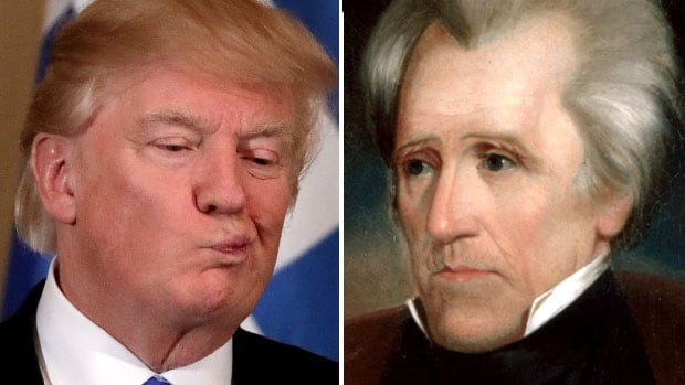 U.S. President Donald Trump said in a recent interview that his predecessor Andrew Jackson was 'upset' about the Civil War, which broke out 16 years after Jackson died.