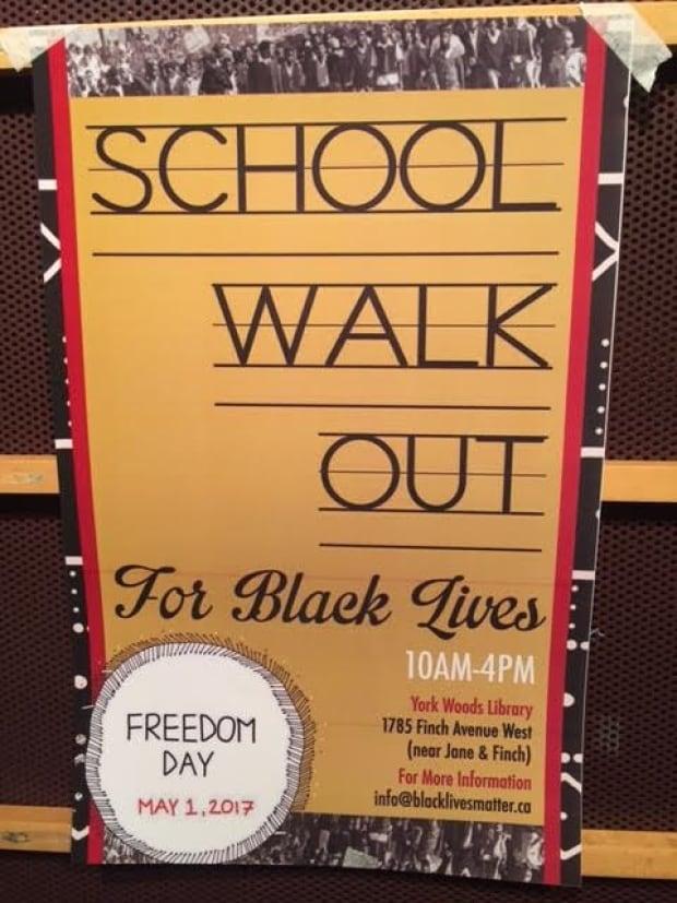 School Walk Out Black Lives Matter