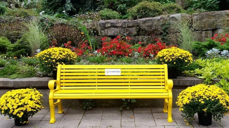 Yellow Bench Campaign Aims To Reduce Mental Health Stigma Cbc News