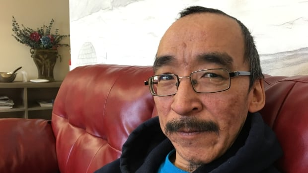 Donny Angulalek, 43, is one of eight men living at a men's shelter in Cambridge Bay, Nunavut. Demand is high for housing units in the hamlet, and the new shelter is already set to expand to 16 beds.