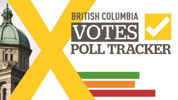 Vote and seat projections for B.C.'s provincial election from CBC poll analyst Éric Grenier.