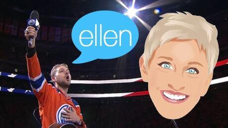 Brett Kissel on Ellen