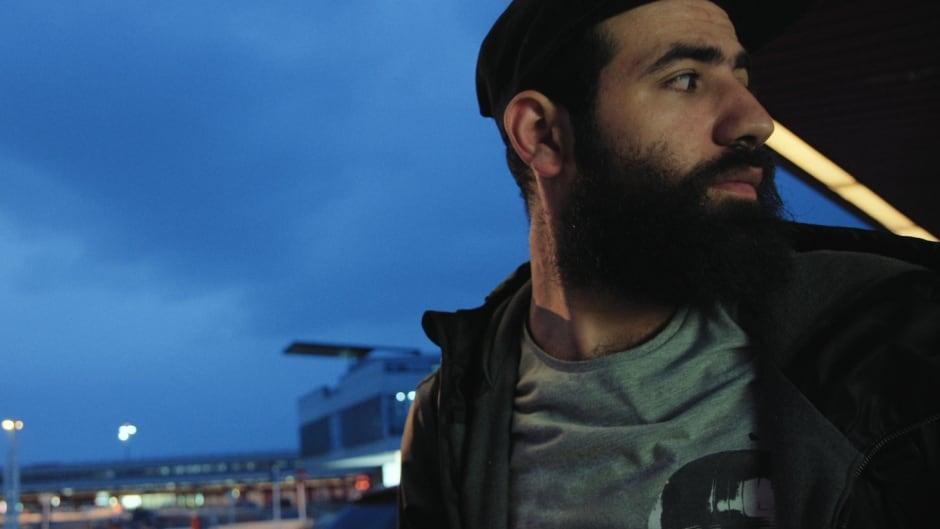 Abdel-Aziz Al-Hamza in a scene from Matthew Heineman's documentary, City of Ghosts.