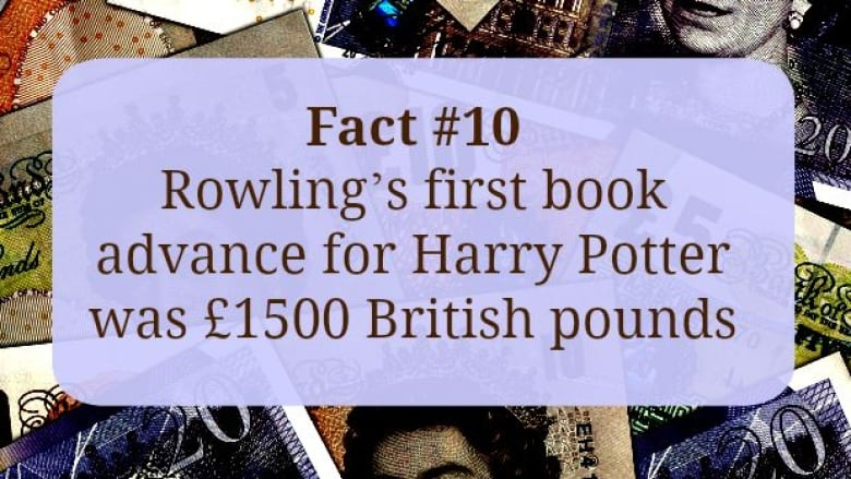 50 things you might not know about J K  Rowling | CBC Books