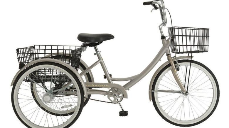 A Winnipeg woman is searching for her unique Manhattan one-speed adult trike  which was stolen from her St. James backyard early Monday morning.