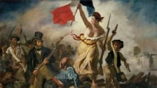 Liberty Leading the people - Delcroix painting