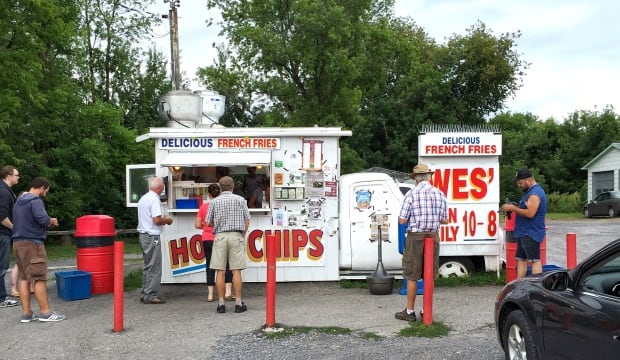 Wes' chip truck