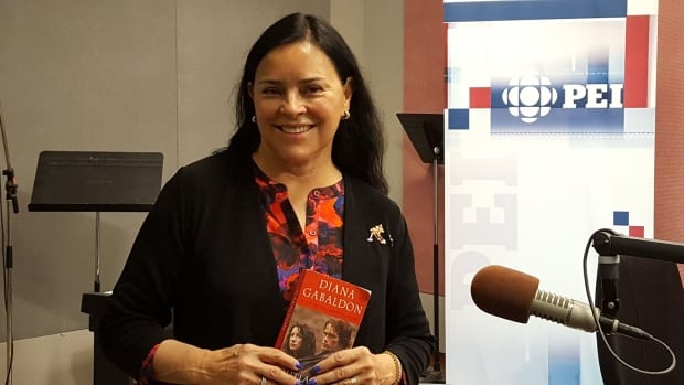 Diana Gabaldon, the author of the popular Outlander series, is visiting Prince Edward Island with plans to include it in her next book.