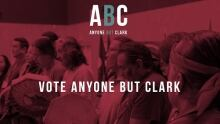 anyone but Clark campaign