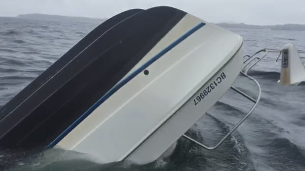Tofino Catamaran Sinks