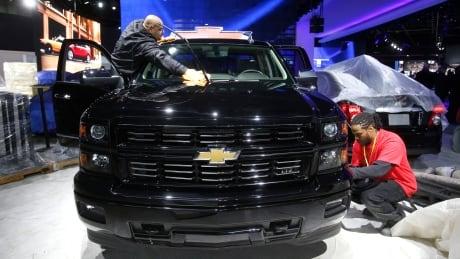 Chevrolet Silverado pickup truck