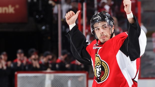 Jean-Gabriel Pageau basked in an ovation from the Ottawa crowd after capping off a four-goal performance with the double-OT winner in Game 2 against the Rangers.