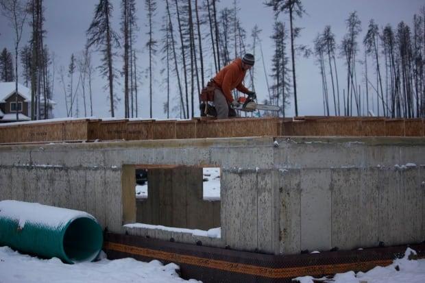 Asher rebuilding house