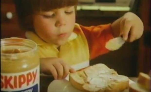 Skippy peanut butter commercial