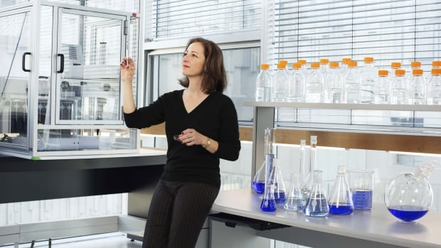Molly Shoichet, seen here in her lab, is the winner of the Killam prize for engineering.