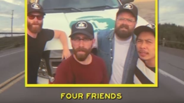 Four friends head out to find the best fries in Canada, with a distinctly National Film Board style.