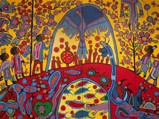 Norval Morriseau, Androgyny