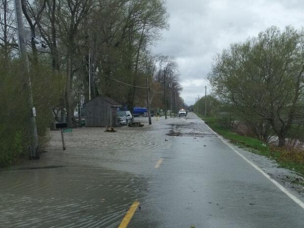 Flooding, Erieau, Chatham-Kent