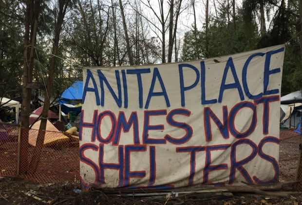 Anita's Place tent city erected in Maple Ridge May 2