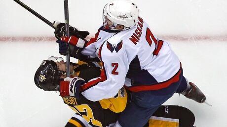 APTOPIX Capitals Penguins Hockey