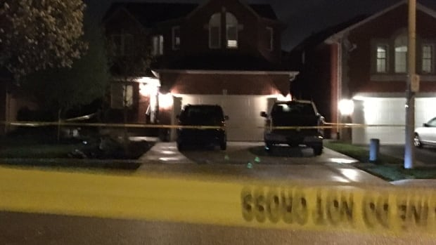 Angelo Musitano was shot and killed inside his pickup truck as he arrived at his home in the Waterdown neighbourhood of Hamilton Tuesday afternoon.