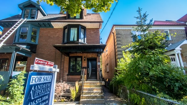 The Toronto Real Estate Board's April numbers show more homes are on the market, bringing supply up 33.6% from the same time last year, but house prices continue to climb despite a slight drop in sales.