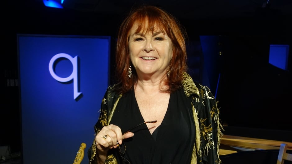 Mary Walsh in the q studios in Toronto, Ont.