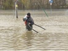 The flooding in Gatineau, Que., is the worst it's been in 20 years.