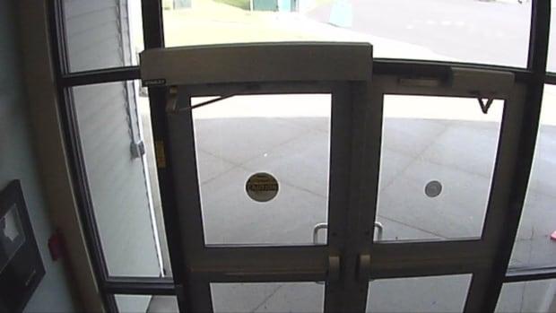 Camera school doors