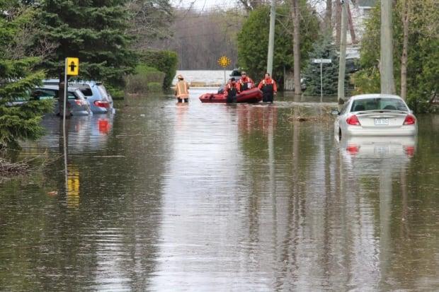 Pierrefonds flooding
