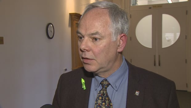 'It strikes me that this budget is the latest piece of evidence that this Liberal government is addicted to unsustainable levels of spending,' says P.E.I. Green Party Leader Peter Bevan-Baker