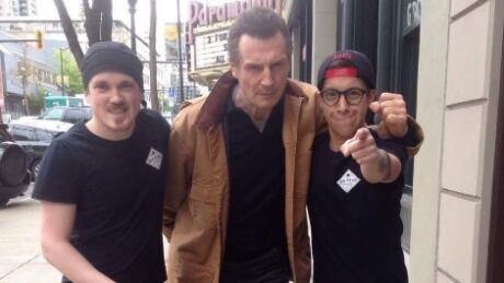 Liam Neeson sandwich