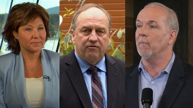 The leaders of B.C.'s political parties made their final pitches to voters on Monday.