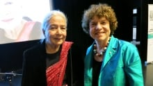 Anita Desai and Eleanor Wachtel
