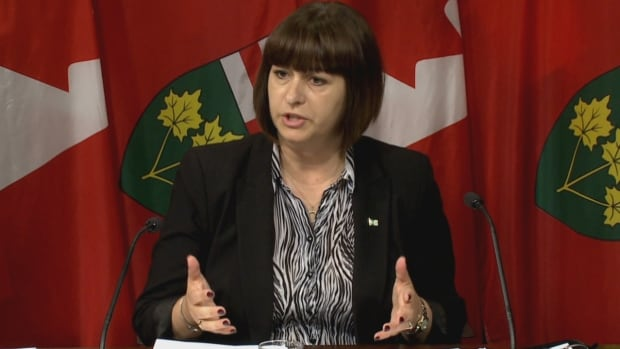 Marie-France Lalonde, Ontario's corrections minister, will also become minister for francophone affairs, Premier Kathleen Wynne announced on Monday, July 31, 2017.
