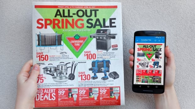 Kitchener-based company reebee offers a mobile app along with a website, to let consumers browse flyers digitally.