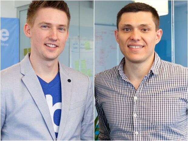 Tobiasz Dankiewicz and Michal Martyniak
